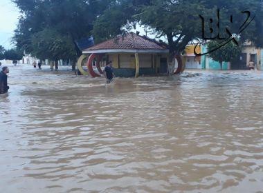 Água começa a inundar Coronel João Pedro Sá; veja vídeo