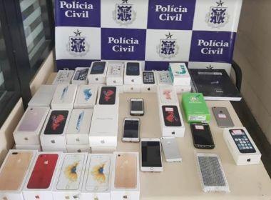 Paulo Afonso: Operação 'Maçã Podre' prende 3 por venda de celulares roubados