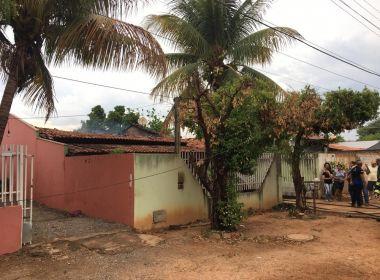 Luís Eduardo: Casa pega fogo ao ser atingida por dois raios