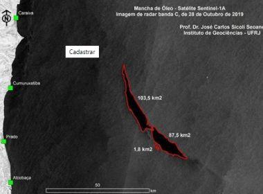 Satélite sugere mancha de oléo de 55 km² no sul da BA; imagem é falso-positivo, diz Ibama
