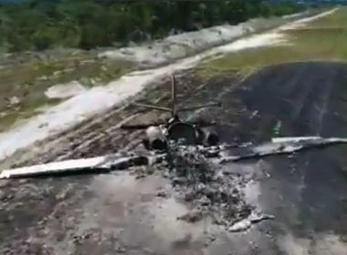 Imagens sugerem que erro humano causou acidente com avião em Maraú
