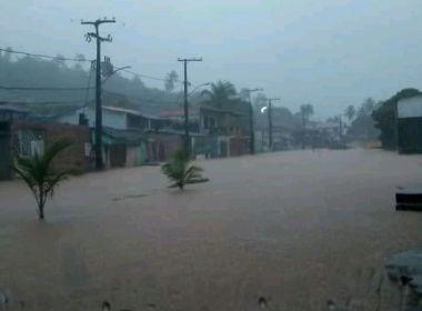 Chuvas também provocam ocorrências em Itaparica, Candeias, Madre de Deus e Catu