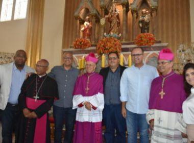 Conquista: Novo bispo toma posse após renúncia de religioso aceita pelo Papa Francisco