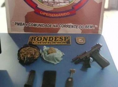 Suspeito de envolvimento com ataques a bancos morre em confronto com a PM em Lapão