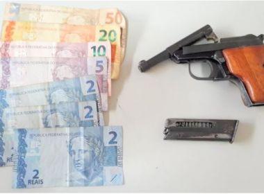 Eunápolis: Homem reage a tentativa de assalto e atira contra dois suspeitos