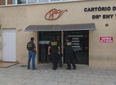 PF deflagra operação contra fraudes em títulos de terra em Salvador e Vitória da Conquista