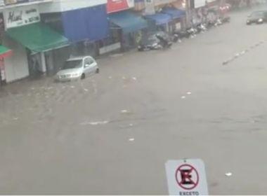 Chuvas dessa quarta causam transtornos em diversas cidades baianas; veja aqui