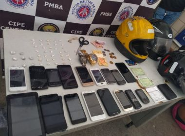 Jequié: Três são presos em ação que recuperou 17 celulares