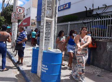 Auxílio Emergencial: Caixa abre agências no sábado em 80 municípios baianos