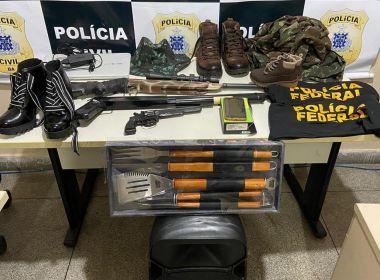 Paulo Afonso: Homem que se passava por delegado da PF é preso em flagrante