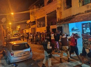 Lauro de Freitas: PM-BA encerra festa paredão com cerca de 200 pessoas