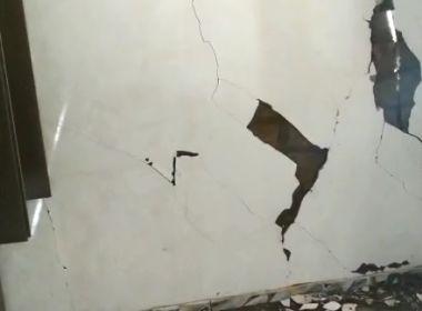 São Miguel das Matas: Vídeo mostra casa destruída após tremor