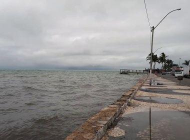 Ciclone pode provocar chuva forte no sul e extremo-sul da Bahia a partir de sábado