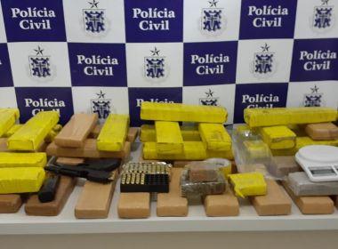 Arma da polícia cearense é encontrada em condomínio em Vitória da Conquista