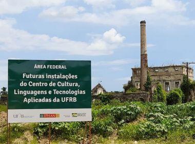UFRB lança pedra fundamental do campus Santo Amaro em terreno alvo de disputa