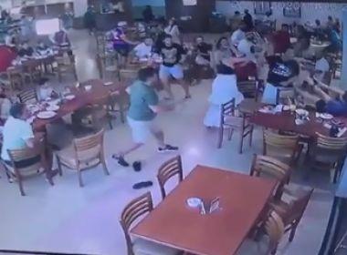 Feira de Santana: Empresário tenta esfaquear advogado dentro de churrascaria