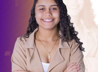 Mais jovem vereadora da Bahia, Talyta Oliveira garante que lugar de jovem é na política