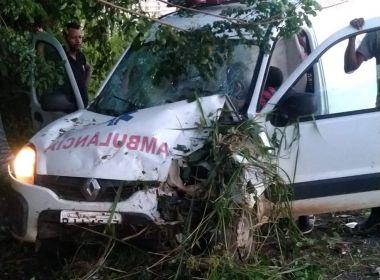 Itabuna: Gestante em trabalho de parto perde bebê após acidente com ambulância