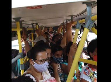 Ilhéus: Passageiros denunciam superlotação em ônibus coletivos