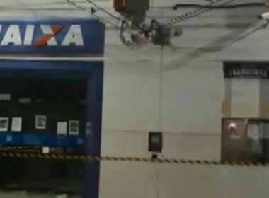 Jeremoabo: Grupo explode agência da Caixa Econômica e faz morador como refém