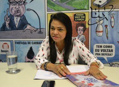 Moema exonera cargos comissionados e limita equipes na Prefeitura de Lauro de Freitas