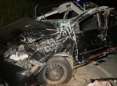 Teixeira de Freitas: Dois morrem e outros 2 ficam feridos em capotamento na BA-290