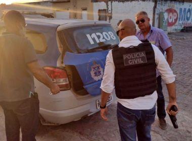 Iaçu: Homem vai pedir emprego em delegacia e acaba preso por porte ilegal de arma