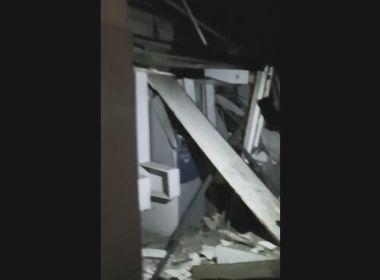 Sapeaçu: Bandidos explodem agência bancária