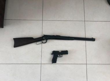 Prefeito de Candeias é detido por posse ilegal de armas após operação da PF