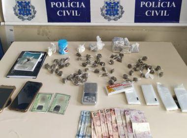 SAJ: Polícia desarticula ponto de tráfico e dois homens são presos