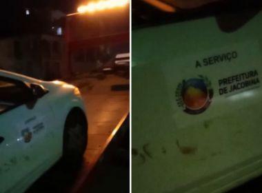 Veículos da prefeitura de Jacobina são apreendidos por falta de licenciamento