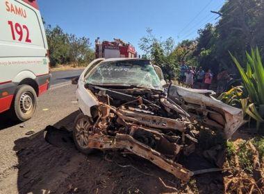 Duas pessoas morrem após acidente de carro em Luís Eduardo Magalhães