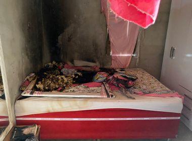 Após atear fogo na casa da ex-companheira, homem é preso em Serrinha