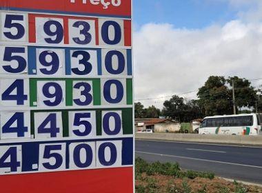 Valor de combustível só muda com intervenção federal, aponta presidente de associação