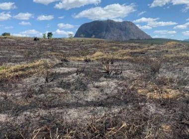 Guaratinga: Investigação é aberta após incêndio que atingiu 30 hectares