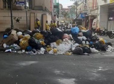 Ilhéus: Coleta de lixo é retomada após cerca de 20 dias de serviço suspenso