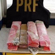 Passageiro de ônibus é preso com 9kg de maconha próximo a Itabuna