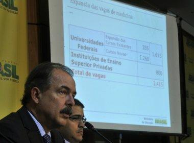 MEC anuncia 2.415 vagas em cursos de medicina