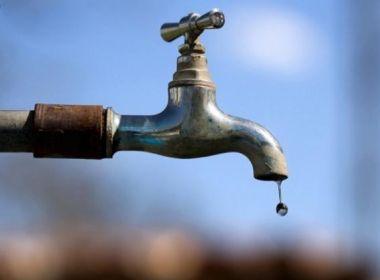 Resultado de imagem para Fornecimento de água é suspenso em 10 bairros de Salvador