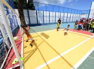 Bairro do Uruguai tem inauguração de nova quadra e vai receber programa  Morar Melhor 8c962175d710b