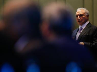 Temer afirma que deve disputar eleição: 'Seria covardia não ser candidato'