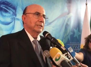 Em ato com Michel Temer, ministro Henrique Meirelles se filia ao PMDB