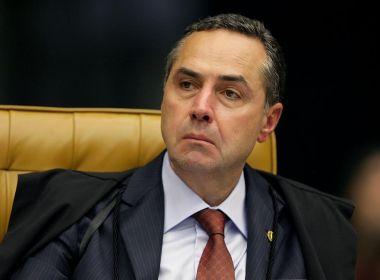 Barroso afirma que há 'operação abafa' contra o combate à corrupção no Brasil