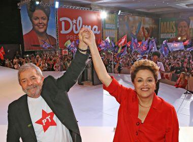 Lula virou 'preso político' e alvo de 'perseguição implacável', afirma Dilma