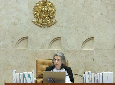 Linha sucessória: Cármen Lúcia assume Presidência nesta sexta-feira