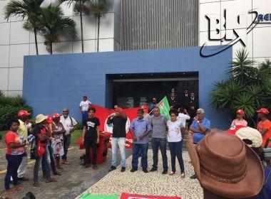 'Estamos aqui dando um recado', diz presidente da CUT sobre ato na Rede Bahia