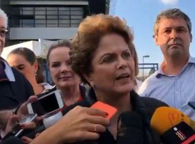 Dilma reforça que PT não tem 'plano B' para 2018: 'Teríamos se o Lula fosse culpado'