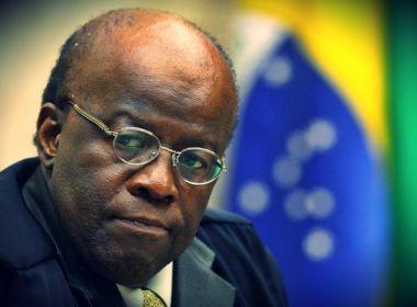 Após meses de especulação, Joaquim Barbosa desiste de ser candidato a presidente