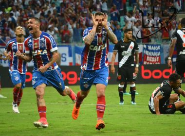 Passou o trator! Bahia domina, vence o Vasco e leva grande vantagem na Copa do Brasil