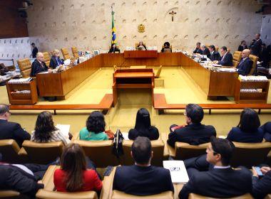 STF rejeita pedido e mantém casos de improbidade administrativa na 1ª instância